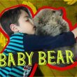 Baby Bear Finds a Home in a Muslim Family!